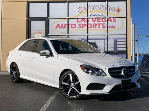 2015 Mercedes-Benz E-Class for sale at Las Vegas Auto Sports in Las Vegas NV