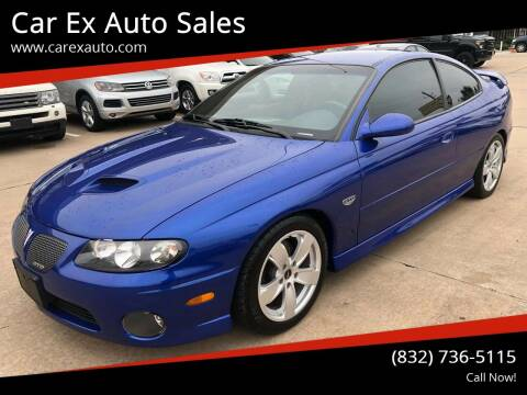 2006 Pontiac GTO for sale at Car Ex Auto Sales in Houston TX