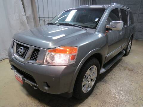 2014 Nissan Armada for sale at Fincher's Texas Best Auto & Truck Sales in Tomball TX
