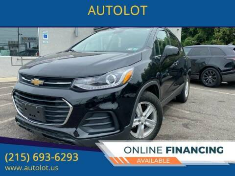 2018 Chevrolet Trax for sale at AUTOLOT in Bristol PA