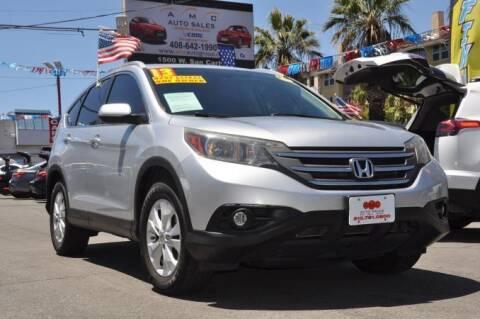 2013 Honda CR-V for sale at AMC Auto Sales, Inc in San Jose CA