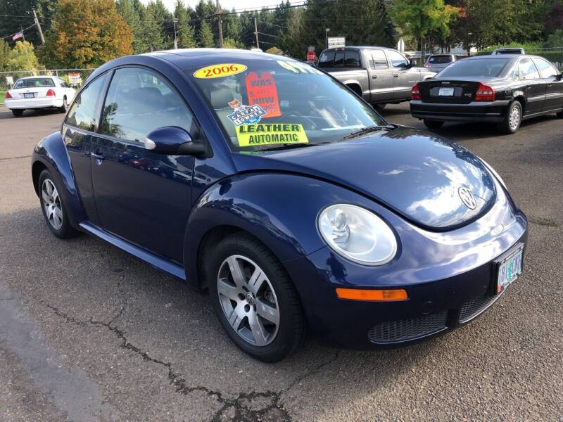 2006 Volkswagen New Beetle for sale at Freeborn Motors in Lafayette, OR