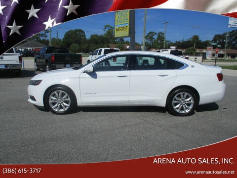 2018 Chevrolet Impala for sale at ARENA AUTO SALES,  INC. in Holly Hill FL