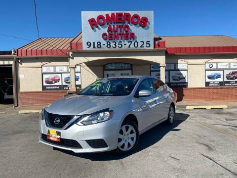 2017 Nissan Sentra for sale at Romeros Auto Center in Tulsa OK