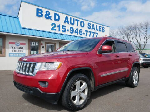 2011 Jeep Grand Cherokee for sale at B & D Auto Sales Inc. in Fairless Hills PA