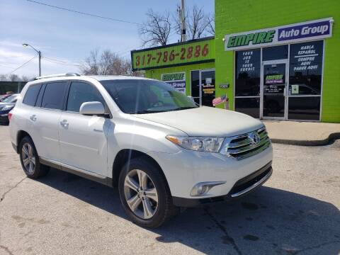 2012 Toyota Highlander for sale at Empire Auto Group in Indianapolis IN
