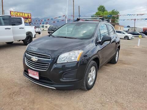 2015 Chevrolet Trax for sale at Bickham Used Cars in Alamogordo NM