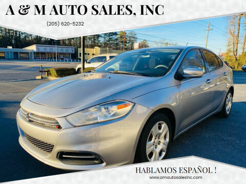 2015 Dodge Dart for sale at A & M Auto Sales, Inc in Alabaster AL