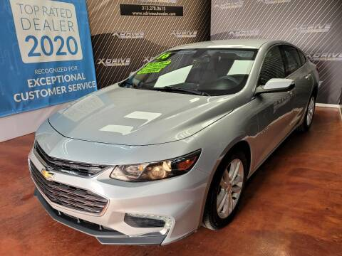 2016 Chevrolet Malibu for sale at X Drive Auto Sales Inc. in Dearborn Heights MI