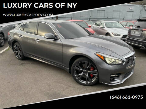 2015 Infiniti Q70 for sale at LUXURY CARS OF NY in Queens NY