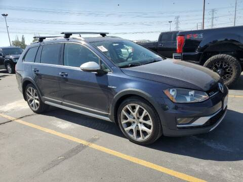 2017 Volkswagen Golf Alltrack for sale at A.I. Monroe Auto Sales in Bountiful UT