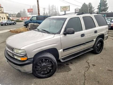 2004 Chevrolet Tahoe for sale at SS MOTORS LLC in Edmonds WA