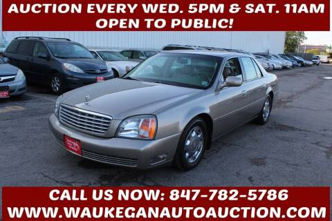 2000 Cadillac DeVille for sale at Waukegan Auto Auction in Waukegan IL