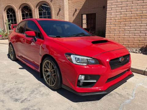 2016 Subaru WRX for sale at Freedom  Automotive in Sierra Vista AZ