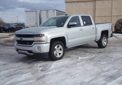 2016 Chevrolet Silverado 1500 for sale at Electric City Auto Sales in Great Falls MT