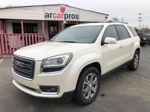 2014 GMC Acadia for sale at Arkansas Car Pros in Cabot AR
