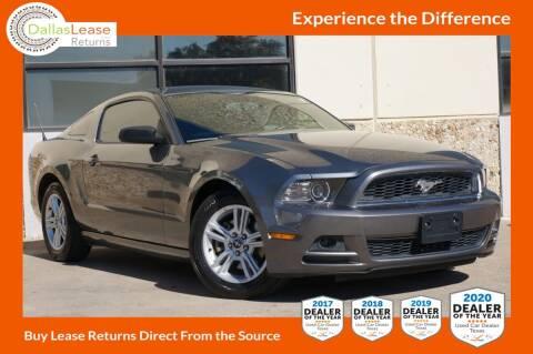 2013 Ford Mustang for sale at Dallas Auto Finance in Dallas TX