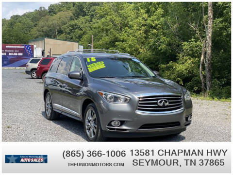2015 Infiniti QX60 for sale at Union Motors in Seymour TN