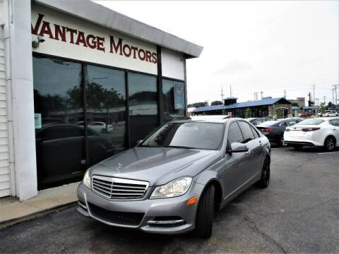 2013 Mercedes-Benz C-Class for sale at Vantage Motors LLC in Raytown MO