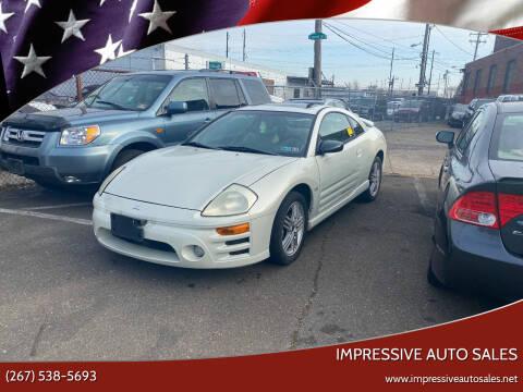 2003 Mitsubishi Eclipse for sale at Impressive Auto Sales in Philadelphia PA
