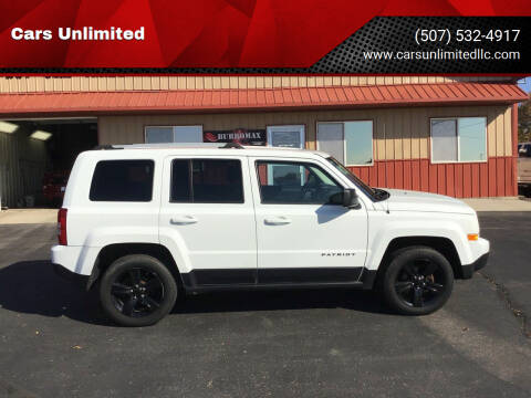 2013 Jeep Patriot for sale at Cars Unlimited in Marshall MN