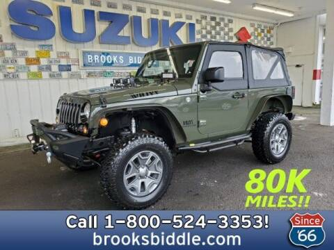 2015 Jeep Wrangler for sale at BROOKS BIDDLE AUTOMOTIVE in Bothell WA