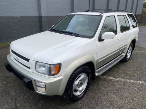1999 Infiniti QX4 for sale at APX Auto Brokers in Lynnwood WA