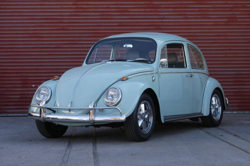 1965 Volkswagen Beetle with Sunroof for sale at Sierra Classics & Imports in Reno NV