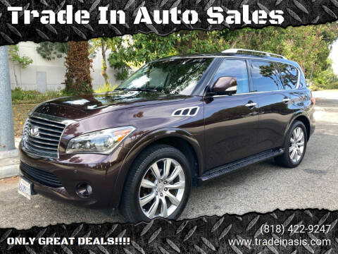 2012 Infiniti QX56 for sale at Trade In Auto Sales in Van Nuys CA