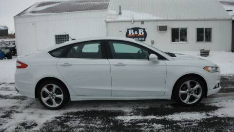 2016 Ford Fusion for sale at B & B Sales 1 in Decorah IA