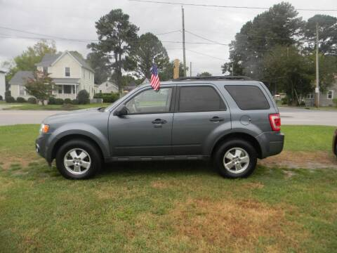 2012 Ford Escape for sale at SeaCrest Sales, LLC in Elizabeth City NC