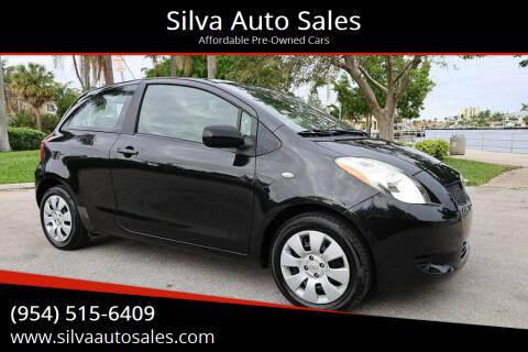 2007 Toyota Yaris for sale at Silva Auto Sales in Pompano Beach FL