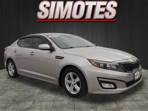 2014 Kia Optima for sale at SIMOTES MOTORS in Minooka IL