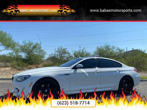 2015 BMW 6 Series for sale at Baba's Motorsports, LLC in Phoenix AZ