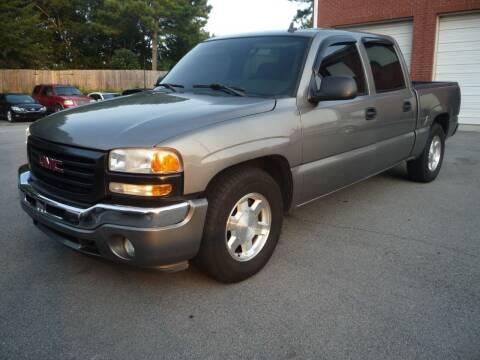 2006 GMC Sierra 1500 for sale at Credit Cars LLC in Lawrenceville GA