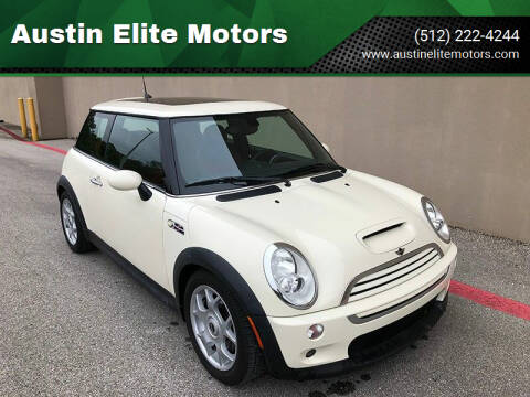 2006 MINI Cooper for sale at Austin Elite Motors in Austin TX