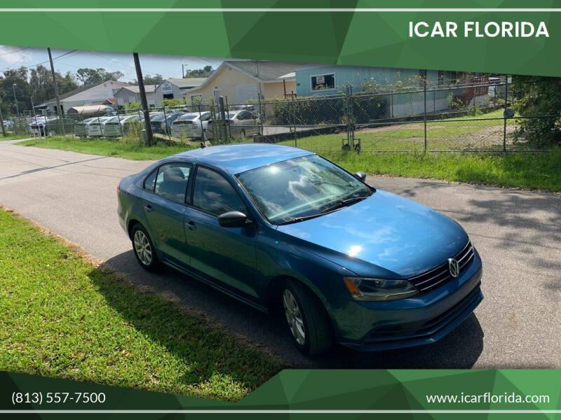 2015 Volkswagen Jetta for sale at ICar Florida in Lutz FL