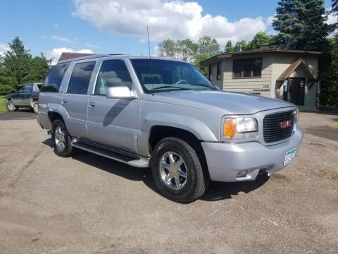 2000 GMC Yukon for sale at Shores Auto in Lakeland Shores MN