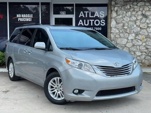 2015 Toyota Sienna for sale at ATLAS AUTOS in Marietta GA