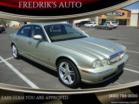 2006 Jaguar XJ-Series for sale at FREDRIK'S AUTO in Mesa AZ