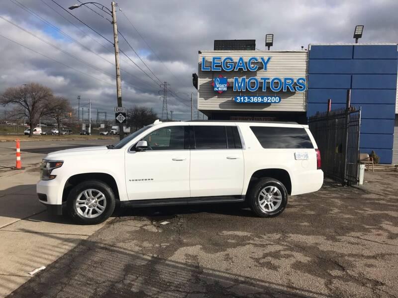 2020 Chevrolet Suburban for sale at Legacy Motors in Detroit MI