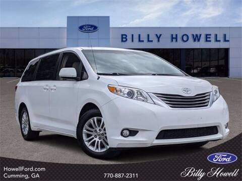 2014 Toyota Sienna for sale at BILLY HOWELL FORD LINCOLN in Cumming GA