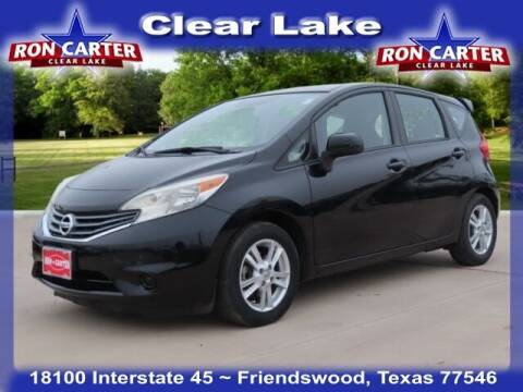 2014 Nissan Versa Note for sale at Ron Carter  Clear Lake Used Cars in Houston TX
