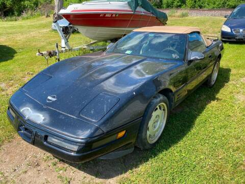 1992 Chevrolet Corvette for sale at Richard C Peck Auto Sales in Wellsville NY