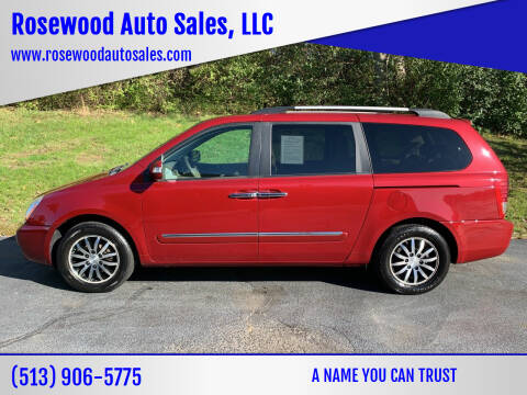 2012 Kia Sedona for sale at Rosewood Auto Sales, LLC in Hamilton OH