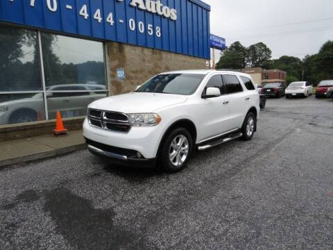 2013 Dodge Durango for sale at Southern Auto Solutions - 1st Choice Autos in Marietta GA
