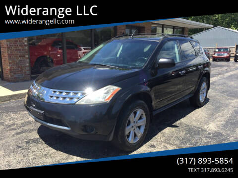 2007 Nissan Murano for sale at Widerange LLC in Greenwood IN