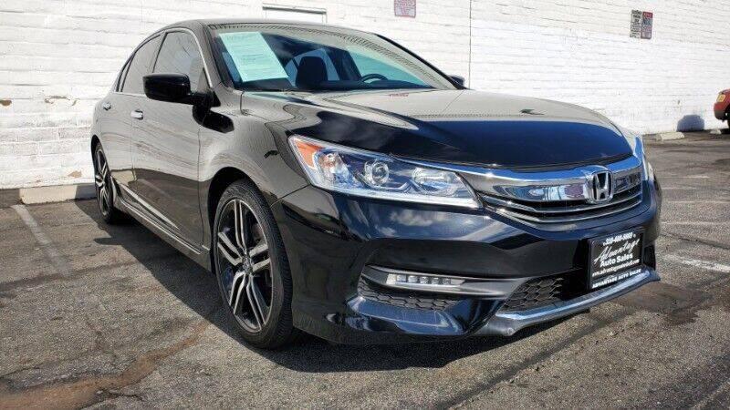 2017 Honda Accord for sale at ADVANTAGE AUTO SALES INC in Bell CA