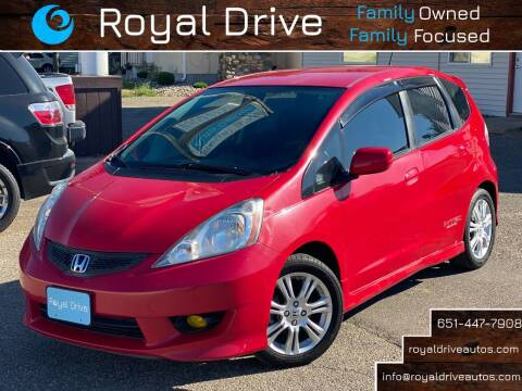 2010 Honda Fit for sale at Royal Drive in Newport MN