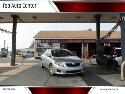 2009 Toyota Corolla for sale at Top Auto Center in Quakertown PA